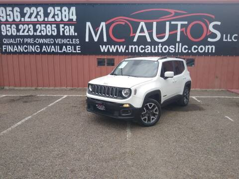 2018 Jeep Renegade for sale at MC Autos LLC in Pharr TX