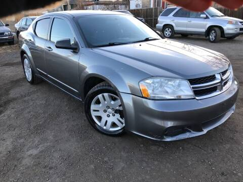 2012 Dodge Avenger for sale at 3-B Auto Sales in Aurora CO