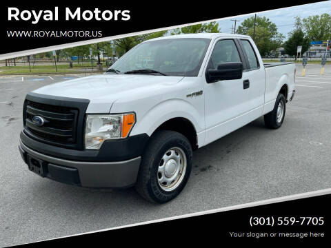 2013 Ford F-150 for sale at Royal Motors in Hyattsville MD