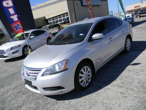 2015 Nissan Sentra for sale at Meridian Auto Sales in San Antonio TX