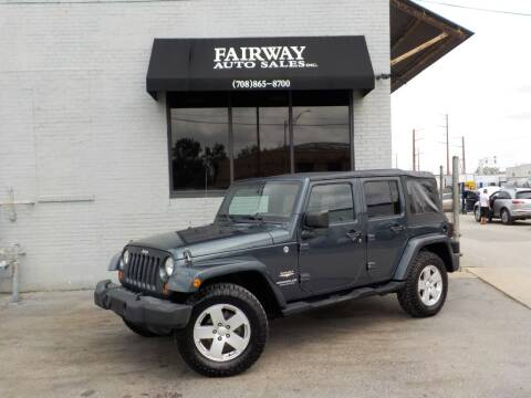 2007 Jeep Wrangler Unlimited for sale at FAIRWAY AUTO SALES, INC. in Melrose Park IL