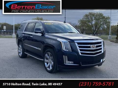 2018 Cadillac Escalade for sale at Betten Baker Preowned Center in Twin Lake MI