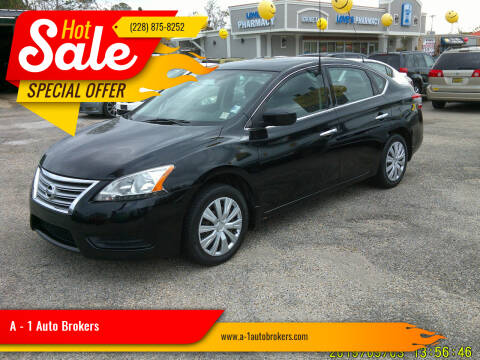 2014 Nissan Sentra for sale at A - 1 Auto Brokers in Ocean Springs MS