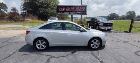 2015 Chevrolet Cruze for sale at T & G Auto Sales in Florence AL
