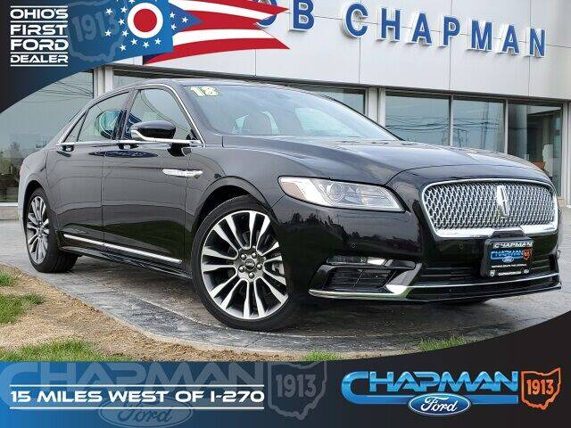 2018 Lincoln Continental for sale in Marysville, OH