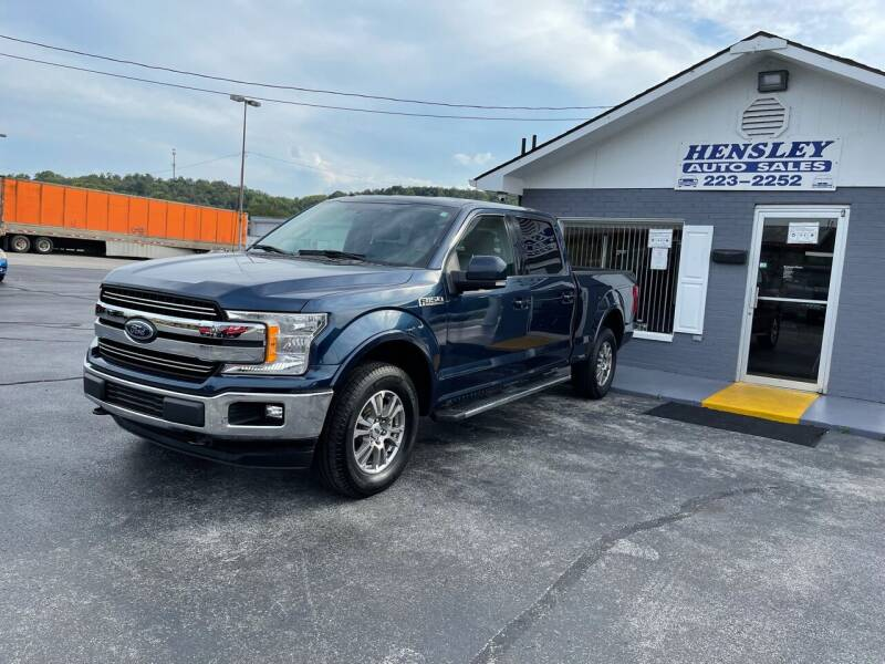 2018 Ford F-150 for sale at Willie Hensley in Frankfort KY
