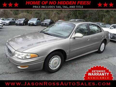2000 Buick LeSabre for sale at Jason Ross Auto Sales in Burlington NC