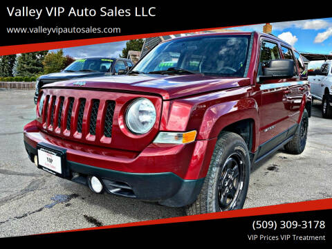 2014 Jeep Patriot for sale at Valley VIP Auto Sales LLC - Valley VIP Auto Sales - E Sprague in Spokane Valley WA