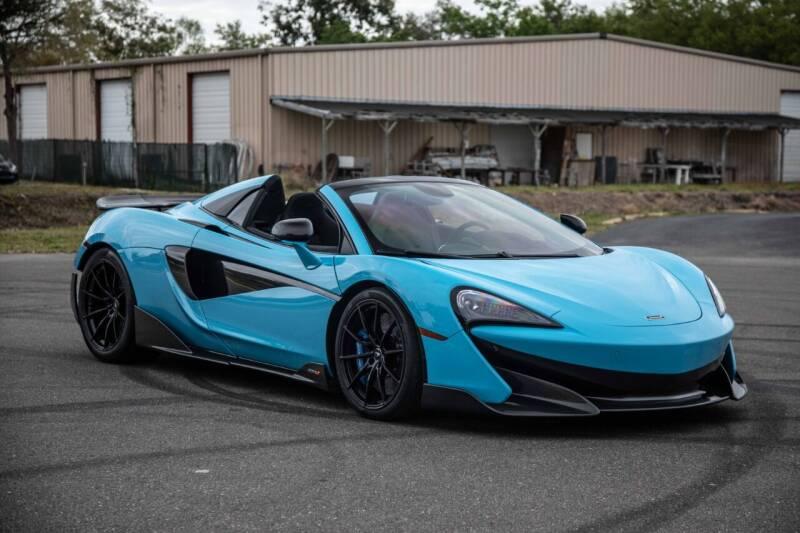 2020 McLaren 600LT Spider for sale at Exquisite Auto in Sarasota FL