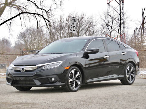 2016 Honda Civic for sale at Tonys Pre Owned Auto Sales in Kokomo IN