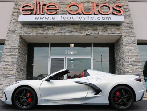 2021 Chevrolet Corvette for sale at Elite Autos LLC in Jonesboro AR
