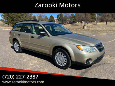 2008 Subaru Outback for sale at Zarooki Motors in Englewood CO