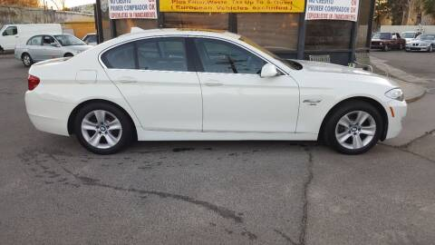 2012 BMW 5 Series for sale at Shick Automotive Inc in North Hills CA