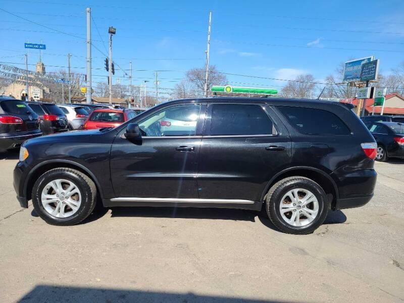 2012 Dodge Durango for sale at Bob Boruff Auto Sales in Kokomo IN