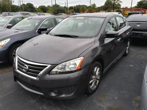 2013 Nissan Sentra for sale at Tony's Auto Sales in Jacksonville FL