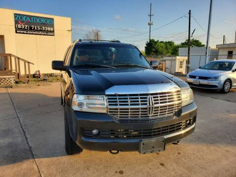2011 Lincoln Navigator for sale at Zora Motors in Houston TX