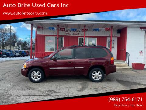 2003 GMC Envoy for sale at Auto Brite Used Cars Inc in Saginaw MI