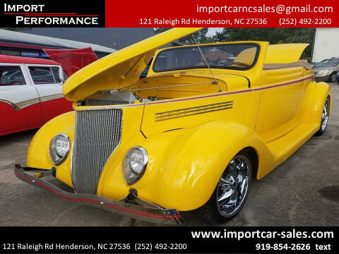 1936 Ford Deluxe for sale at Import Performance Sales - Henderson in Henderson NC