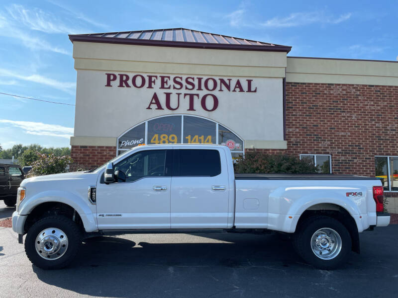 2019 Ford F-450 Super Duty for sale at Professional Auto Sales & Service in Fort Wayne IN