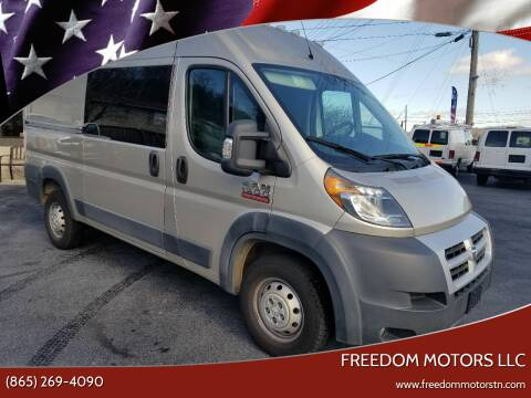 2015 RAM ProMaster Cargo for sale at Freedom Motors LLC in Knoxville TN