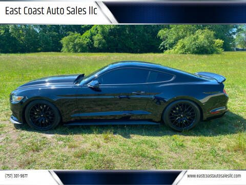 2015 Ford Mustang for sale at East Coast Auto Sales llc in Virginia Beach VA