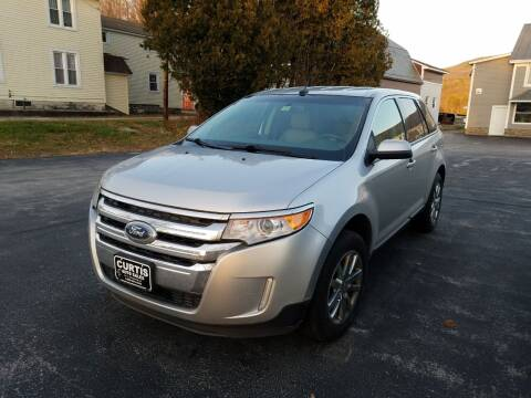 2013 Ford Edge for sale at CURTIS AUTO SALES in Pittsford VT