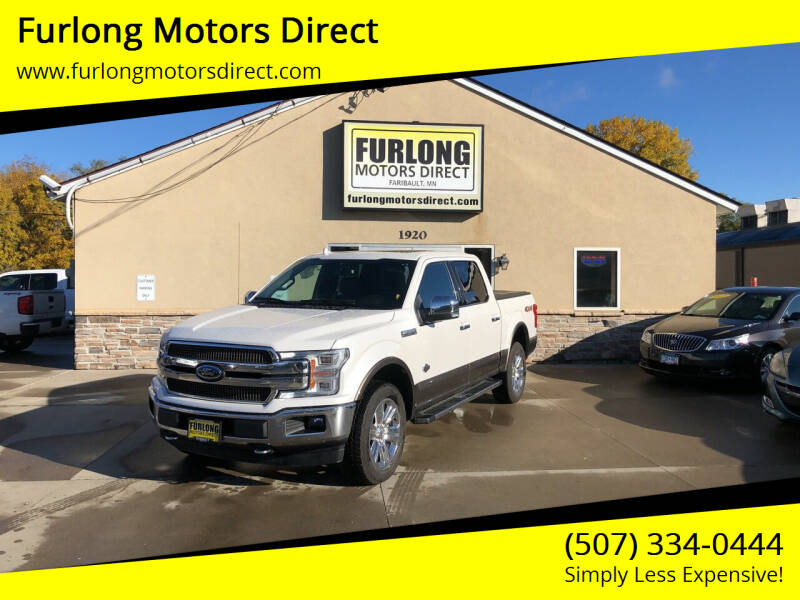 2019 Ford F-150 for sale at Furlong Motors Direct in Faribault MN