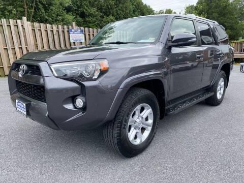 2018 Toyota 4Runner for sale at SETTLE'S CARS & TRUCKS in Flint Hill VA