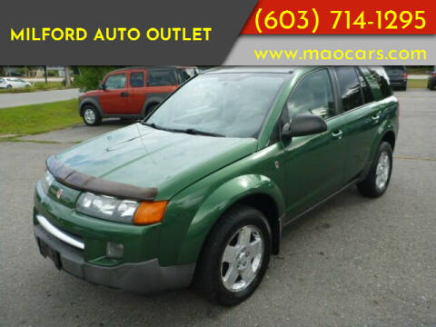 2004 Saturn Vue for sale at Milford Auto Outlet in Milford NH