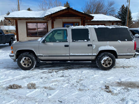 1999 Chevrolet Suburban for sale at Sawtooth Auto Sales in Hailey ID