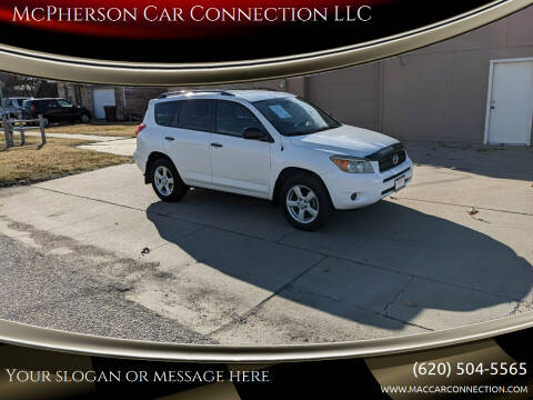 2007 Toyota RAV4 for sale at McPherson Car Connection LLC in Mcpherson KS