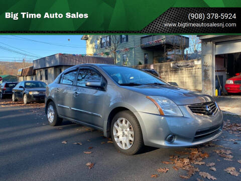 2010 Nissan Sentra for sale at Big Time Auto Sales in Vauxhall NJ