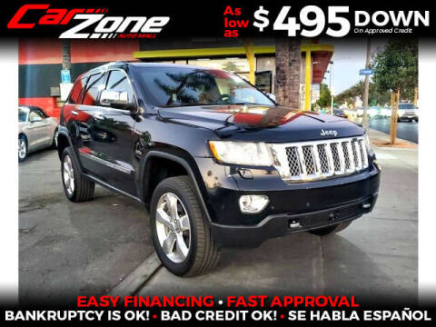 2013 Jeep Grand Cherokee for sale at Carzone Automall in South Gate CA