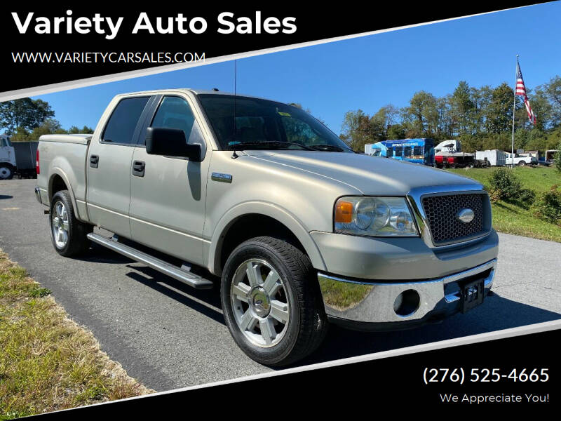 2006 Ford F-150 for sale at Variety Auto Sales in Abingdon VA