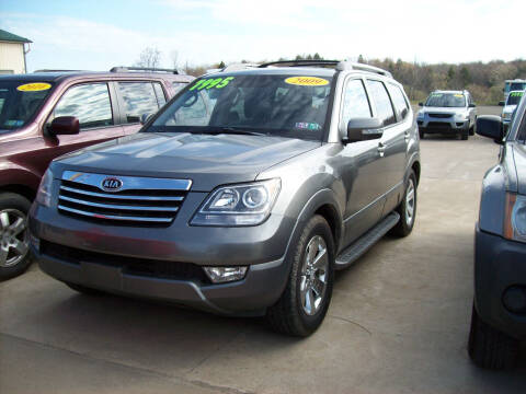 2009 Kia Borrego for sale at Summit Auto Inc in Waterford PA