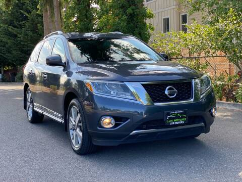 2014 Nissan Pathfinder for sale at Lux Motors in Tacoma WA