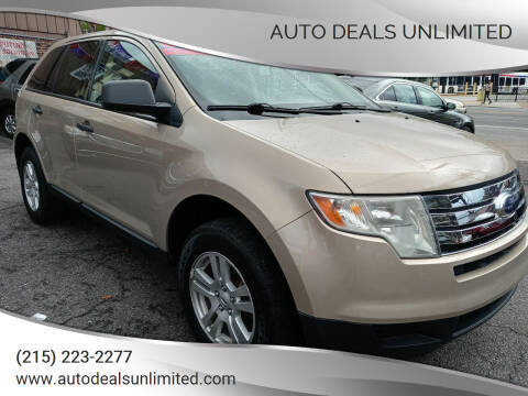 2007 Ford Edge for sale at AUTO DEALS UNLIMITED in Philadelphia PA