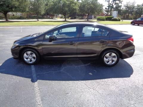 2013 Honda Civic for sale at BALKCUM AUTO INC in Wilmington NC