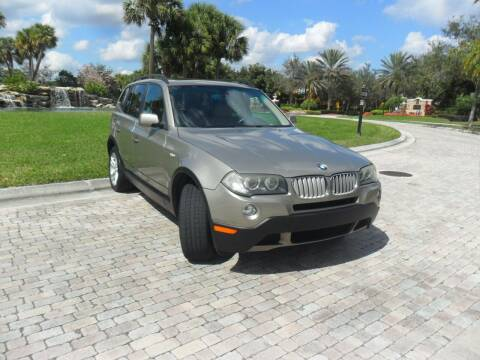 2007 BMW X3 for sale at AUTO HOUSE FLORIDA in Pompano Beach FL