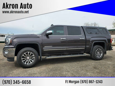 2016 GMC Sierra 1500 for sale at Akron Auto in Akron CO