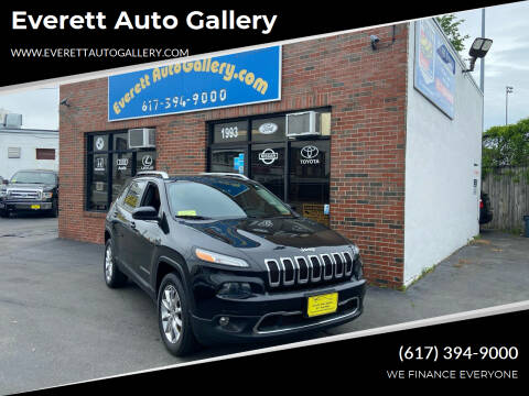 2014 Jeep Cherokee for sale at Everett Auto Gallery in Everett MA