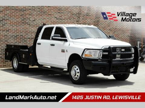 2011 RAM Ram Chassis 3500 for sale at Village Motors in Lewisville TX