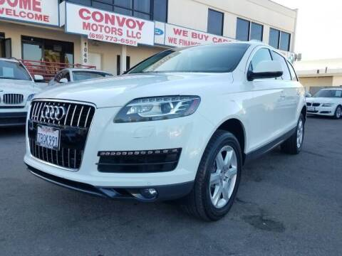 2014 Audi Q7 for sale at Convoy Motors LLC in National City CA