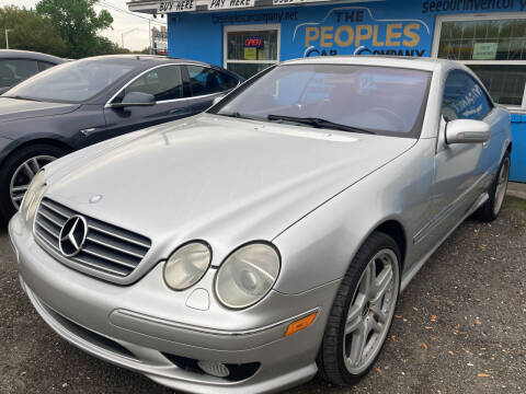 2001 Mercedes-Benz CL-Class for sale at The Peoples Car Company in Jacksonville FL
