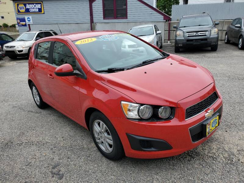 2013 Chevrolet Sonic for sale at Fortier's Auto Sales & Svc in Fall River MA