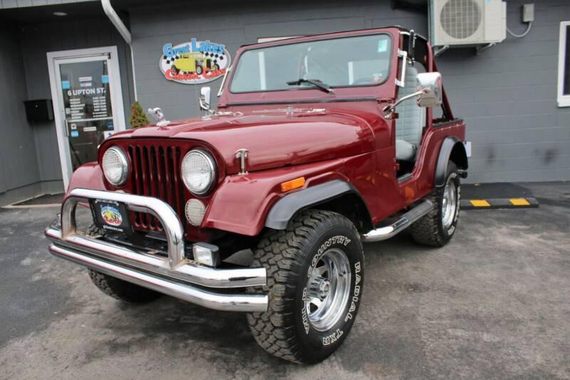 1978 Jeep CJ-5 for sale at Great Lakes Classic Cars & Detail Shop in Hilton NY