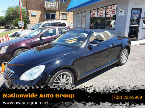 2002 Lexus SC 430 for sale at Nationwide Auto Group in Melrose Park IL