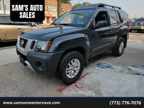 2014 Nissan Xterra for sale at SAM'S AUTO SALES in Chicago IL