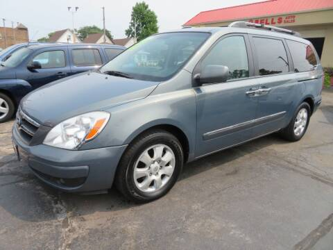 2007 Hyundai Entourage for sale at Bells Auto Sales in Hammond IN