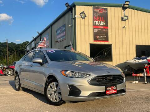 2019 Ford Fusion for sale at Premium Auto Group in Humble TX
